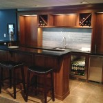 whitegate contracting basement bar