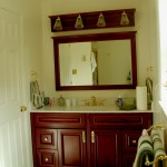 whitegate contracting dark-cherry bathroom